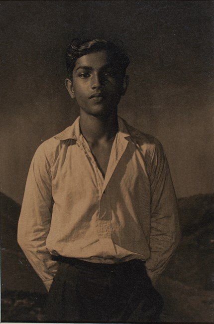 Untitled (Boy in White Shirt and Trousers) by Lionel Wendt contemporary artwork