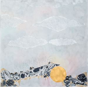 the mountains 'make shift' by Crystal Liu contemporary artwork