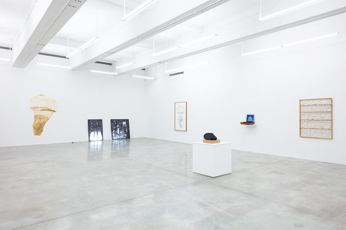 Exhibition view: Group Exhibition, Summer Group Exhibition, Tina Kim Gallery, New York (28 June–3 August 2018). Courtesy Tina Kim Gallery, New York. Photo:Jeremy Haik.