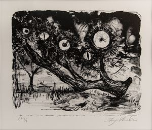 Gaze of the Forest, Château de Chambord #1 by Shinji Ohmaki contemporary artwork print