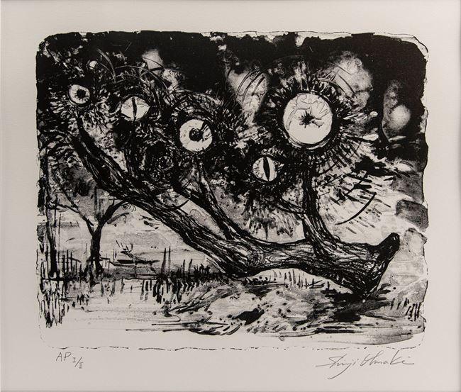 Gaze of the Forest, Château de Chambord #1 by Shinji Ohmaki contemporary artwork