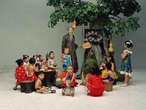 Preschool by Wang Qingsong contemporary artwork