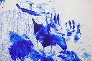 Double Fly Klein Blue 10 by Double Fly Art Center contemporary artwork 4