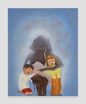 Family Portrait by Tala Madani contemporary artwork