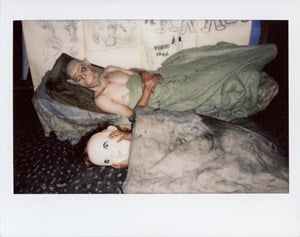 Untitled (Polaroid#043-1) by Roger Ballen contemporary artwork