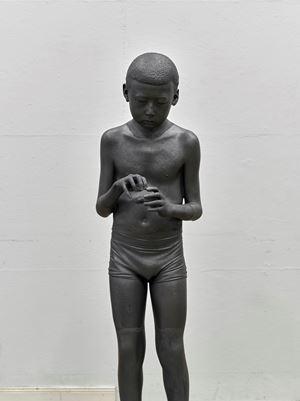Asian Boy by He Xiangyu contemporary artwork