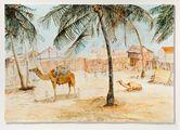 Postcards from Africa: Afrique Occidentale - Senegal - Saint Louis. Un Coin de Guet N'Dar by Sue Williamson contemporary artwork 2