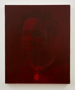 For Services – Victoria Regina by Njideka Akunyili Crosby contemporary artwork