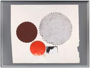 Surcollage d'atelier #2 - série paléolithique by Joëlle Tuerlinckx contemporary artwork