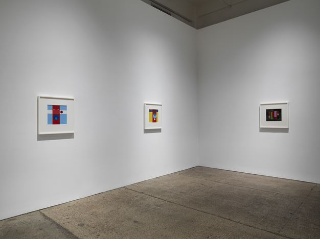 Exhibition view: Hélio Oiticica,Spatial Relief and Drawings, 1955-59, Galerie Lelong & Co., New York (3 November 2018–26 January 2019). Courtesy Galerie Lelong & Co.