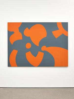 Grigio arancio by Carla Accardi contemporary artwork painting