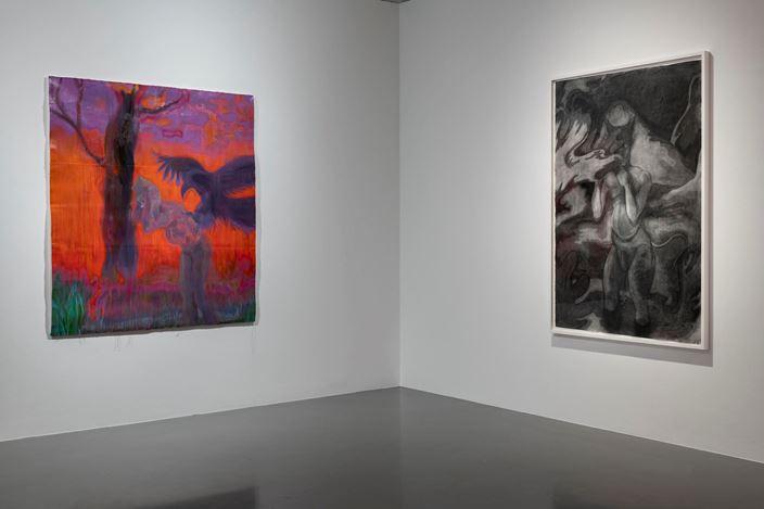 Exhibition view: Sofia Mitsola and Sedrick Chisom, Condo 2020, Pilar Corrias, London (11 January–8 February 2020). Courtesy Pilar Corrias.