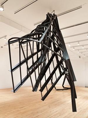 The Window by Monika Sosnowska contemporary artwork