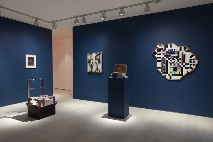 Exhibition view: Lucas Samaras, Me, Myself, and..., Pace Gallery, New York (17 January–22 February 2020). © Lucas Samaras. Courtesy Pace Gallery.