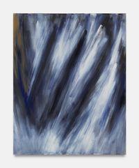 Kleine Suite: aufsteigend stürzend IV by Raimund Girke contemporary artwork painting, works on paper