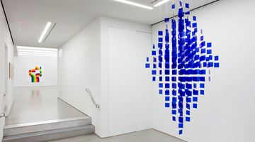Contemporary art exhibition, Julio Le Parc, Color and Colors at Perrotin, New York