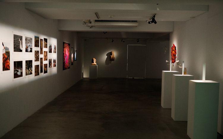 Contemporary art exhibition, Group Exhibition, Okinawa・Jeju・Taiwan Peace Art Exchange Exhibition at VT Artsalon, Taipei, Taiwan