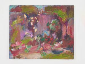 Garden Wall in Sun by Sargy Mann contemporary artwork