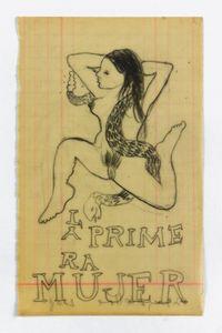 La Primera Mujer by Sandra Vásquez de la Horra contemporary artwork works on paper, drawing