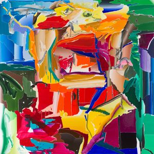 After De Kooning No.5 by Seoul Kim contemporary artwork painting