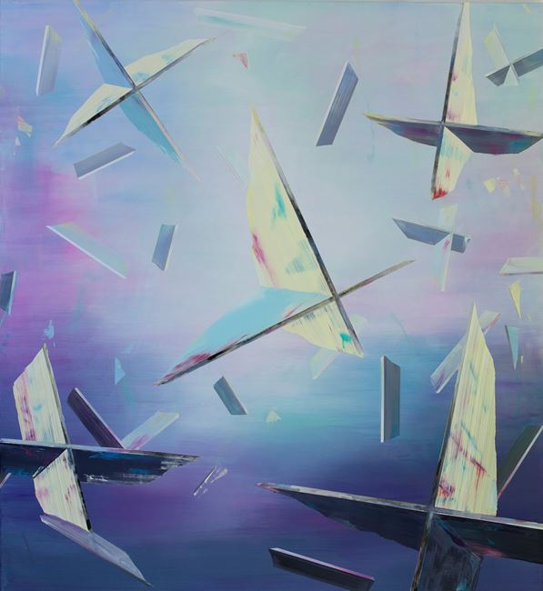 Eclat by Driss Ouadahi contemporary artwork