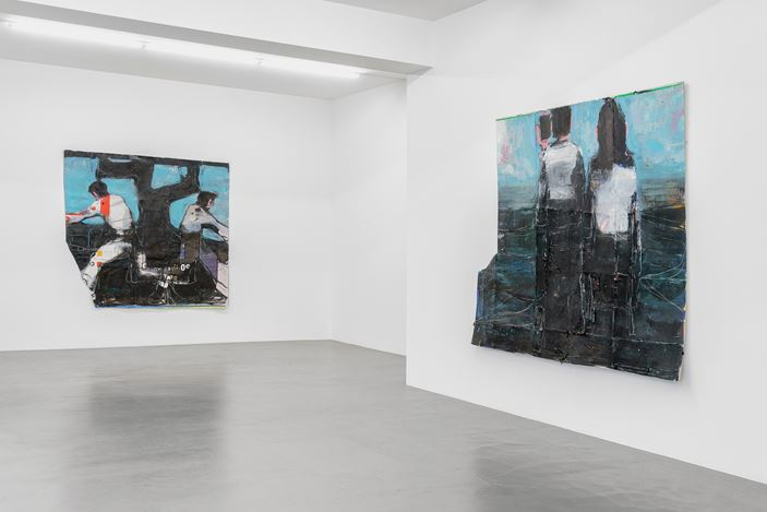 Exhibition view: Jean-Charles Blais, Buchmann Galerie, Berlin (22 February–20 April 2019). Courtesy Buchmann Galerie.