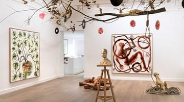 Contemporary art exhibition, Barthélémy Toguo, Strange Fruit at Galerie Lelong & Co. Paris, 13 Rue de Téhéran, Paris, France