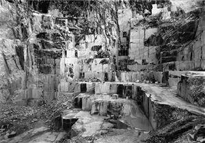 Carrara II, Italien by Petra Wunderlich contemporary artwork