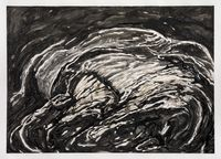 My Father's Rock #4 by Shi Jin-Hua contemporary artwork works on paper, drawing