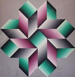 Mernoek by Victor Vasarely contemporary artwork