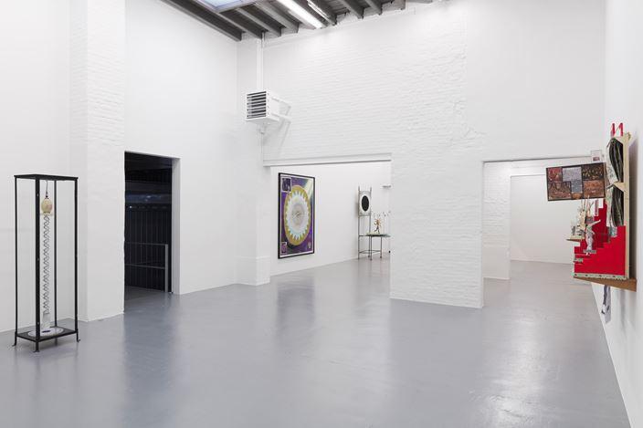 Exhibition view:Patrick Van Caeckenbergh,De Kosmogonoloog (le monde à l'envers), Zeno X Gallery, Antwerp (28 October–19 December 2020). Courtesy Zeno X Gallery.