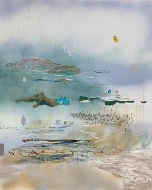 Sea scene no.8 (in foggy town) by I-Chin Liao contemporary artwork