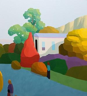 new terrain by Michael Muir contemporary artwork