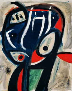 Personnage by Joan Miró contemporary artwork