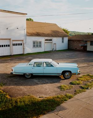 Lincoln Continental, Omaha, NE by Gregory Halpern contemporary artwork