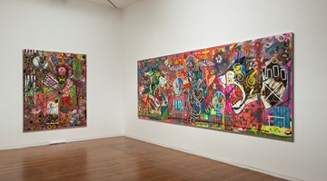 Contemporary art exhibition, David Griggs, Heroes at Roslyn Oxley9 Gallery, Sydney