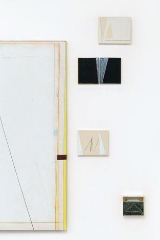 Exhibition view: Avis Newman,The Weight of Souls I,Maureen Paley, Studio M, London (10 June–30 July 2021). © Avis Newman. Courtesy Maureen Paley, London