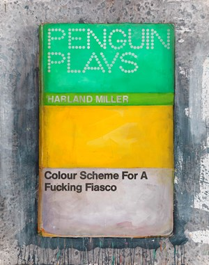 Colour Scheme For A Fucking Fiasco by Harland Miller contemporary artwork