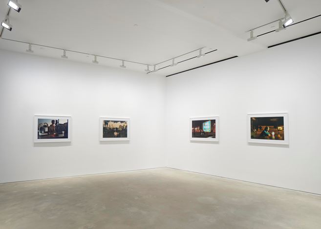 Exhibition view: Philip-Lorca diCorcia,David Zwirner, Hong Kong (10 September–12 October 2019).Courtesy David Zwirner.