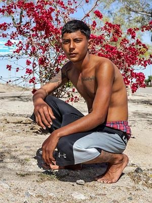 The Asylum Seeker, Hermosillo by Pieter Hugo contemporary artwork
