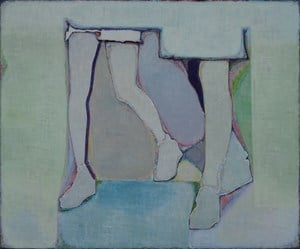 Three Legs and Blocks of Colour (三条腿和一些色块) by Tang Yongxiang contemporary artwork