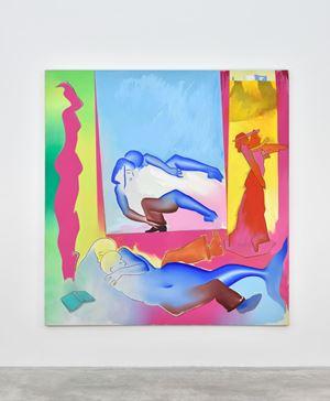 The Studio by Allen Jones contemporary artwork