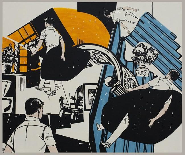Jungle by Dina Gadia contemporary artwork