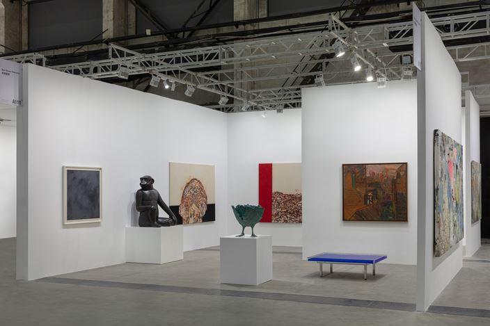 Ben Brown Fine Arts, West Bund Art & Design, Shanghai (7–10 November 2019). Courtesy Ben Brown Fine Arts.