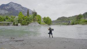 Der Rhein by Cheng Xinhao contemporary artwork moving image