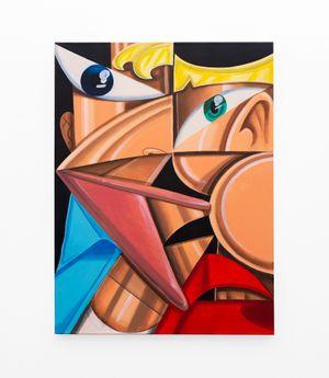 TWIN (2) by Callan Grecia contemporary artwork