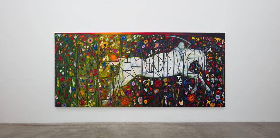 Srijon Chowdhury, Pale Rider (2019). Exhibition view: Srijon Chowdhury, A Divine Dance, Anat Ebgi, Los Angeles (2 November–14 December 2019). Courtesy Anat Ebgi.