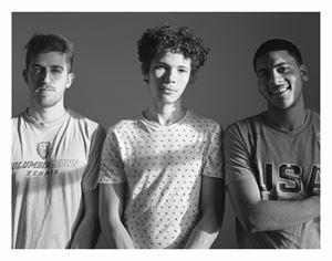 Barney, Eric, Leo by Moyra Davey contemporary artwork photography