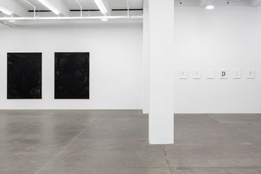 Exhibition view: Cheyney Thompson, Somewhere Some Pictures Sometimes, Andrew Kreps Gallery, New York ( 7 September–21 October 2017). Courtesy Andrew Kreps Gallery, New York.