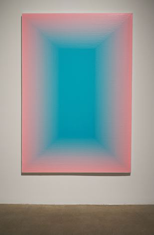 Exhibition view: Wang Guangle,Duo Color, Pace Gallery, 510 West 25th Street, New York (11 January–9 February 2019). Courtesy the artist and Pace Gallery.
